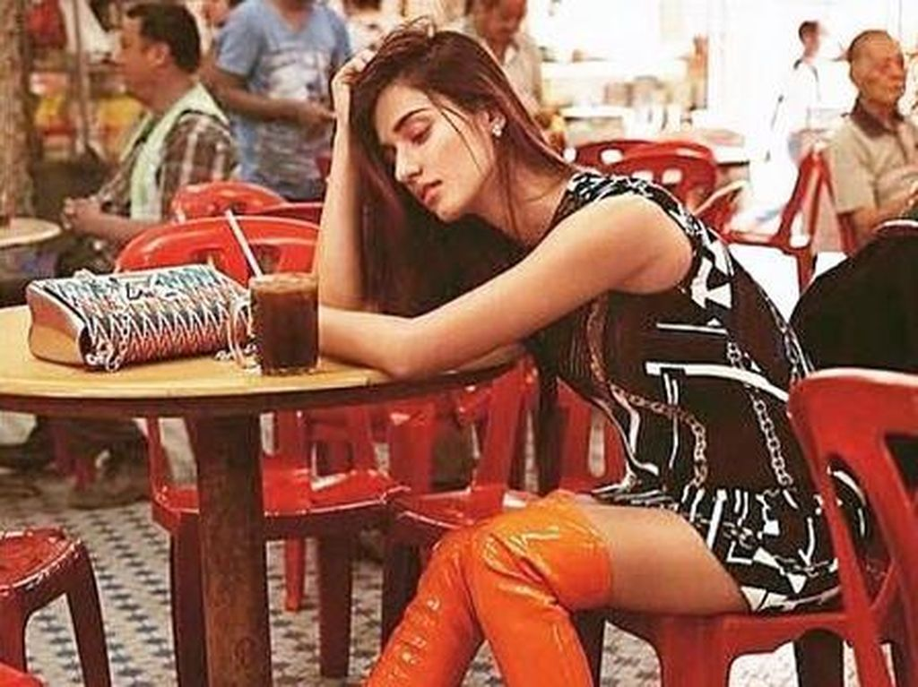 Disha Patani mengawali karir lewat dunia modeling. (Dok. Instagram/dishapatani)
