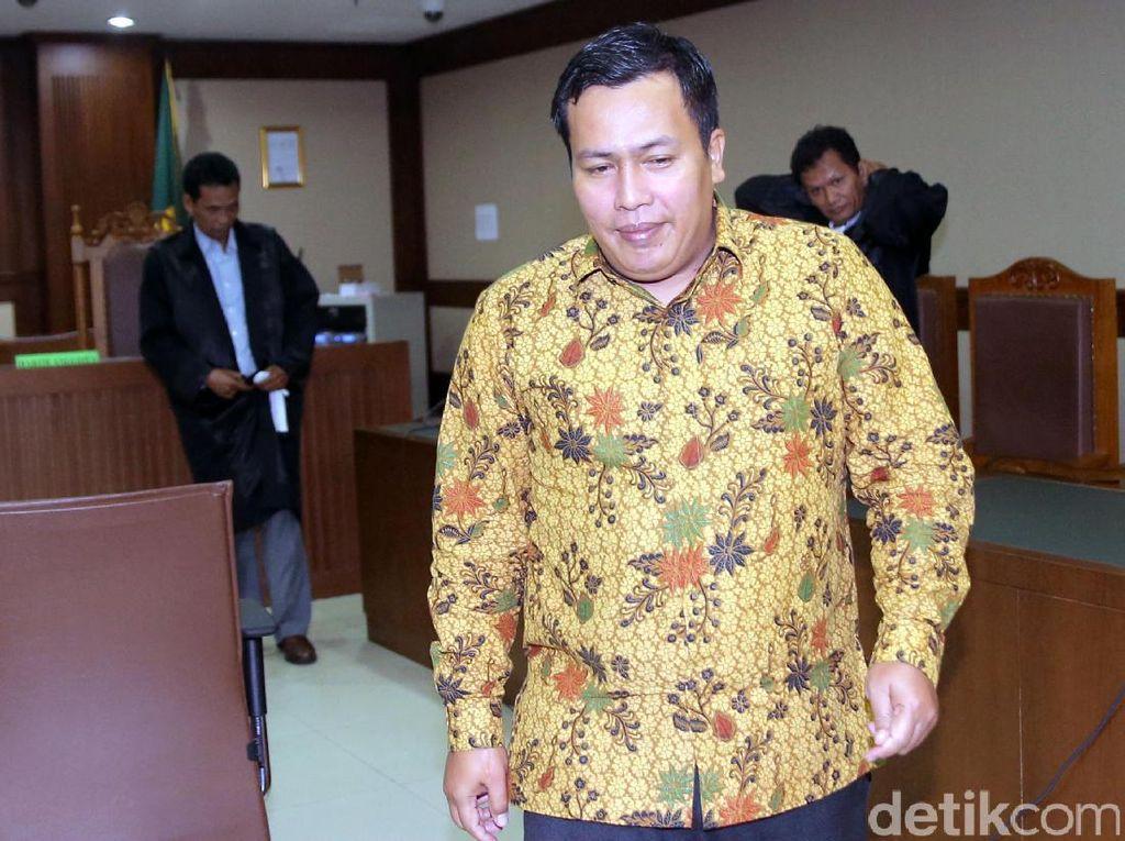 Marisi Matondang menjalani sidang pembacaan putusan di Pengadilan Negeri Tipikor, Jakarta, Rabu (13/9/2017).