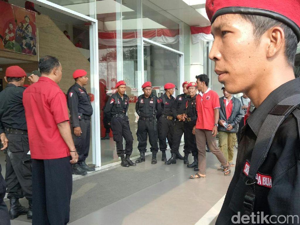 Kader PDIP datang dari Kabupaten Ogan Ilir, Banyuasin, Lahat, Ogan Komering Ilir (OKI) maupun dari Kota Palembang (Raja Adil Siregar/detikcom)
