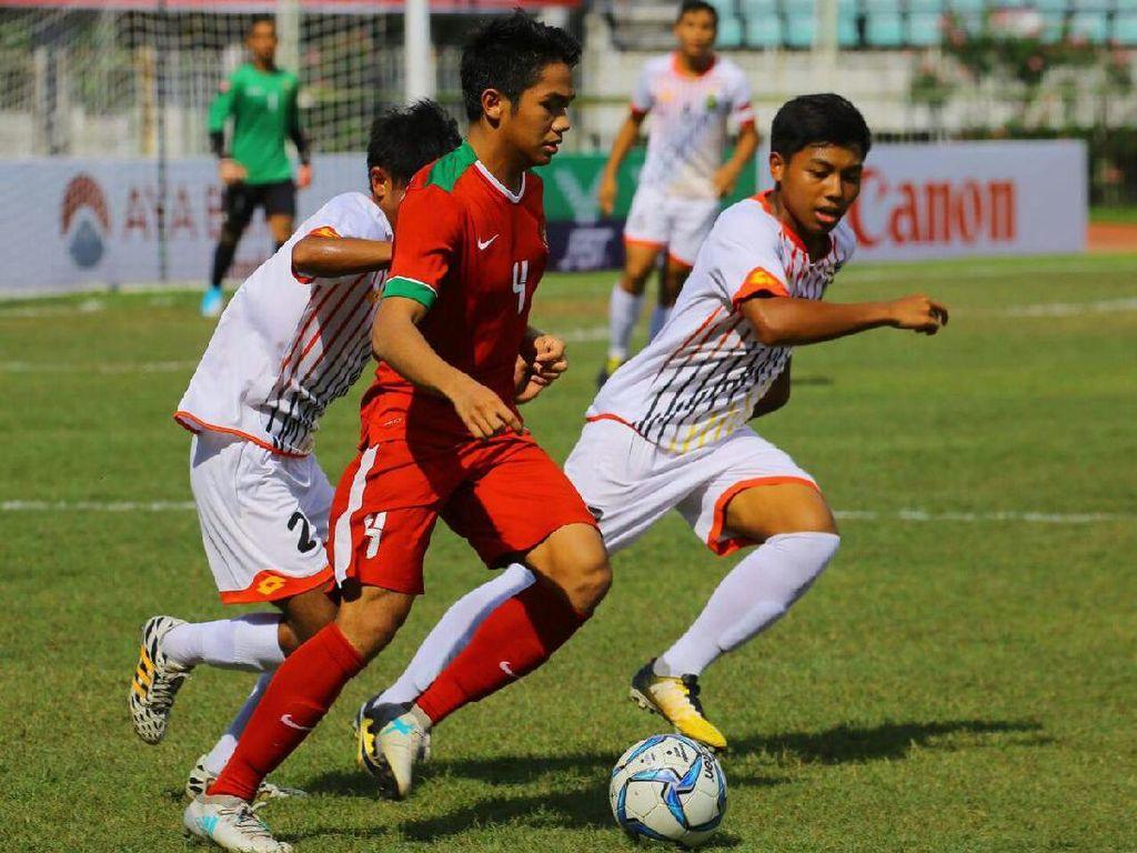 Indonesia selanjutnya akan melawan Thailand di semifinal. Thailand sendiri lolos sebagai runner-up Grup A di bawah Malaysia. Foto: dok.Humas PSSI