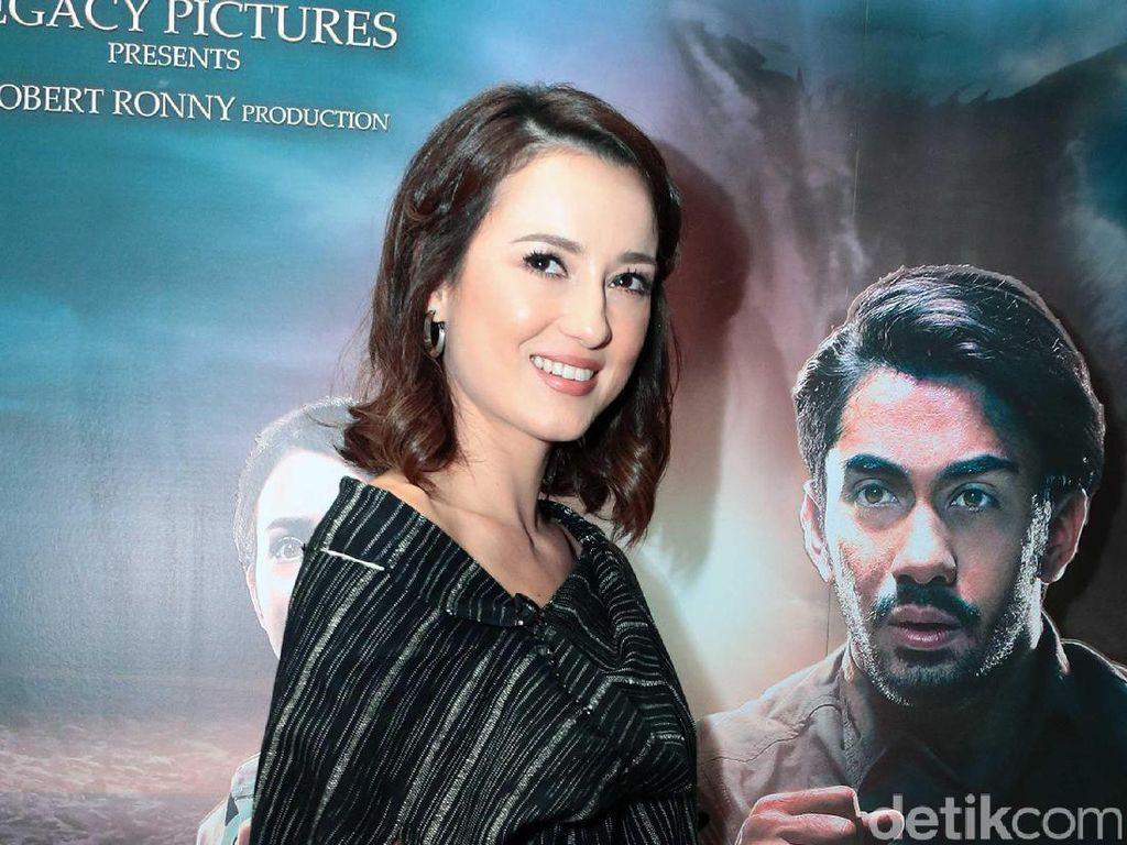 Gerbang Neraka, akan menjadi film terbaru Julie yang bergenre horror. Pool/Ismail/detikFoto.