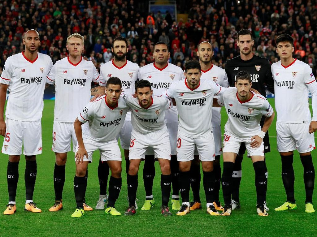 Sevilla datang bertamu untuk menguji ketangguhan tuan rumah Liverpool di Anfield. (Foto: Jason Cairnduff/Action Images via Reuters)