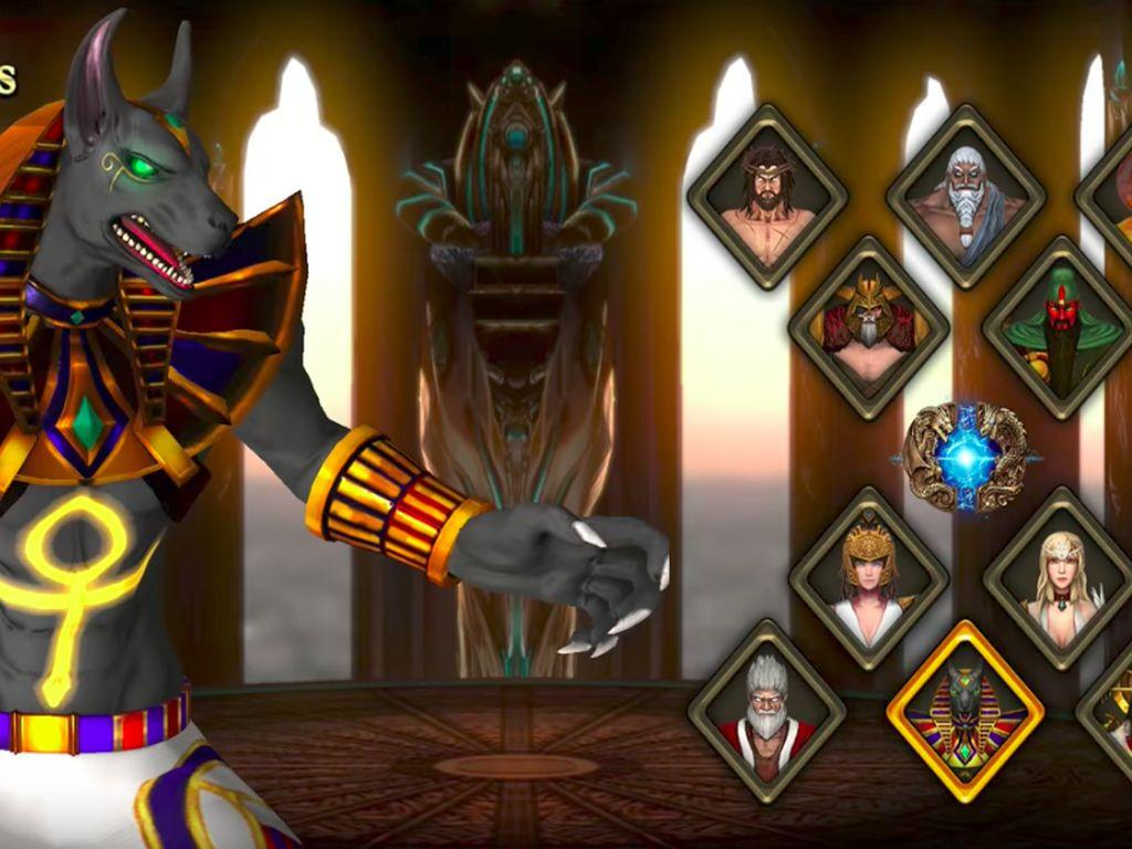 Berikut adalah deretan karakter dalam game kontroversial ini.Foto: Screenshot Fight of Gods