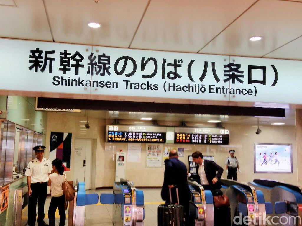 Tujuannya antara lain ke kota-kota seperti Osaka, Tokyo, Yokohama, Nagoya, dan Shinagawa.