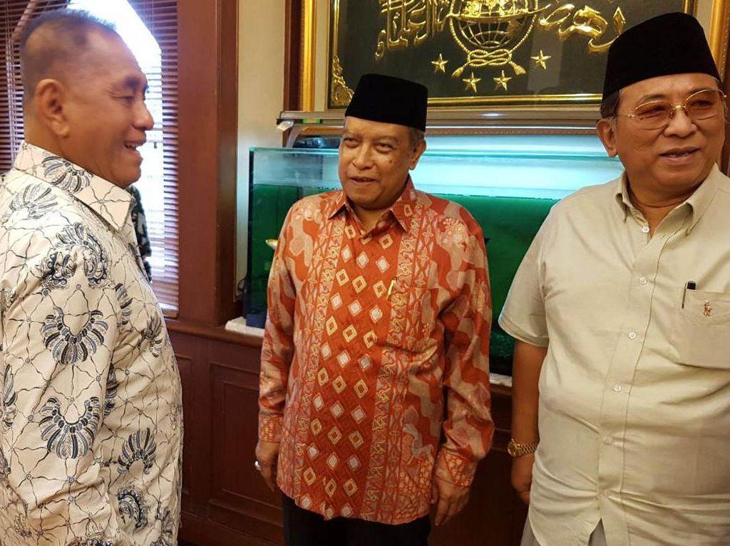 Pertemuan ini berlangsung di kantor PBNU, Jakarta, Rabu (13/9/2017). (PBNU).