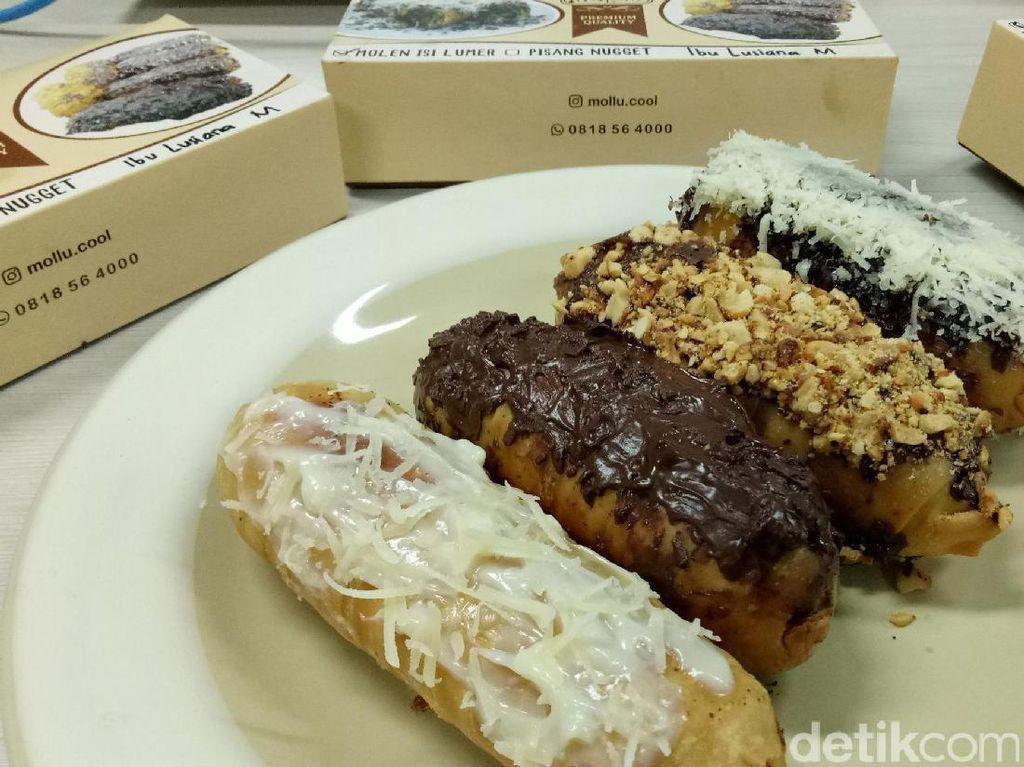 Mollucool: Ngemil Pisang Molen Lumer dengan Isian Durian dan Cokelat Kacang
