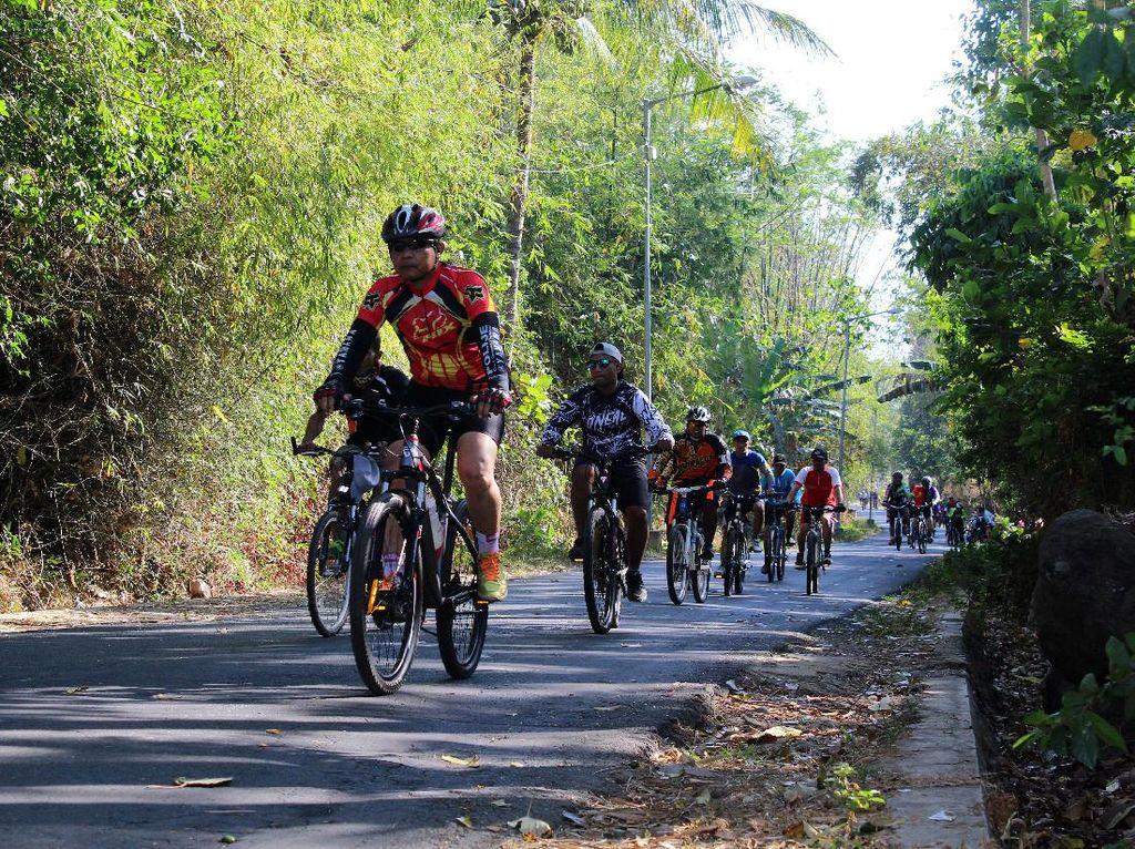 Sambut HUT ke-72 TNI, Kostrad Gelar Fun Bike