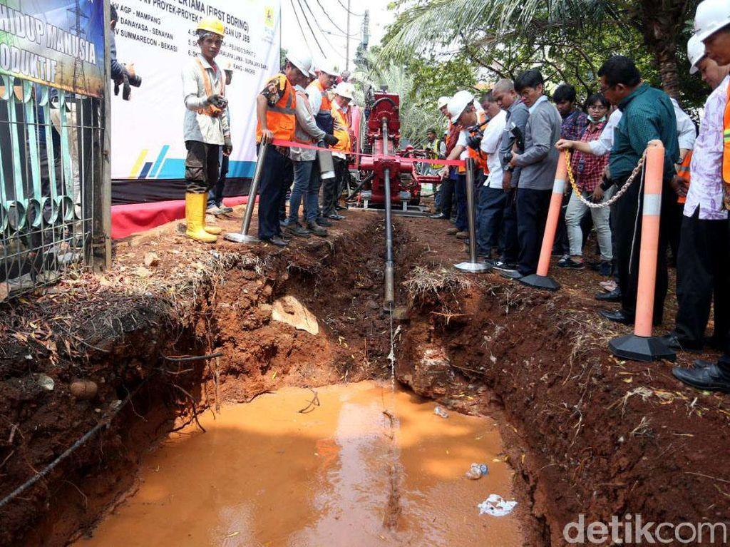 PLN Lakukan Pengeboran Kabel Listrik Bawah Tanah di Jakarta