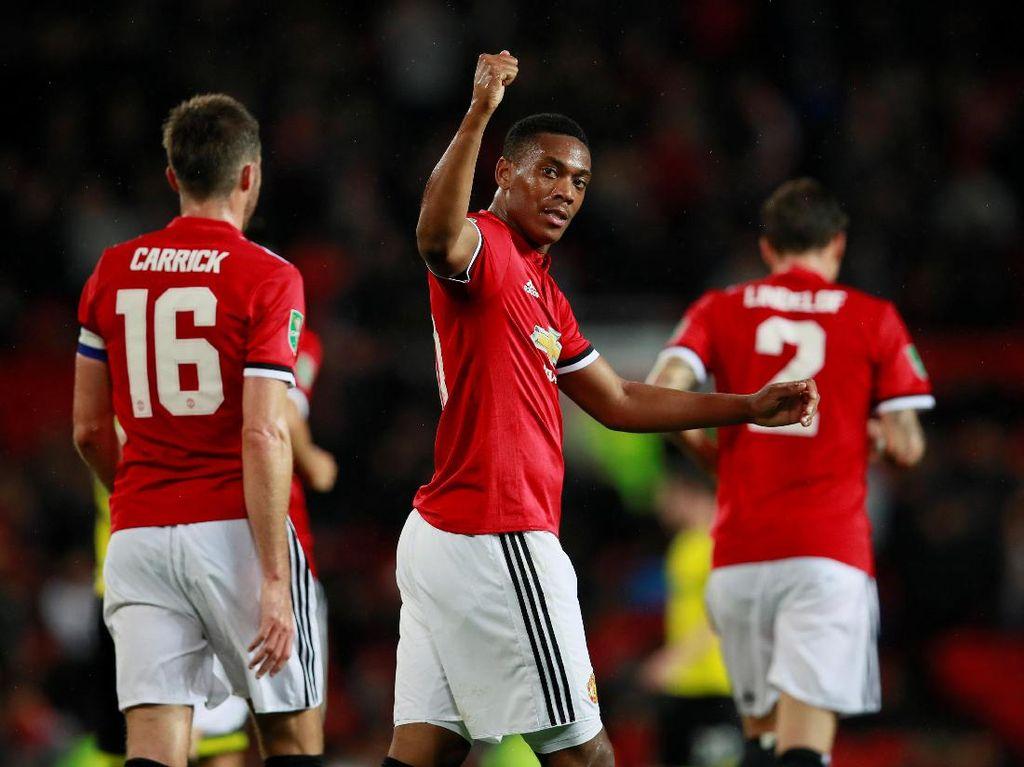 Setan Merah Melaju Mulus di Piala Liga Inggris