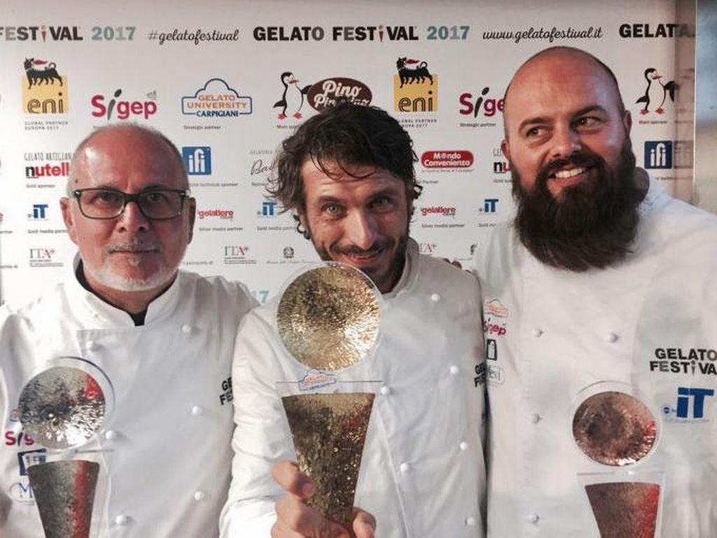 Festival Gelato Eropa Berhasil Memilih Pembuat Gelato Terbaik 2017