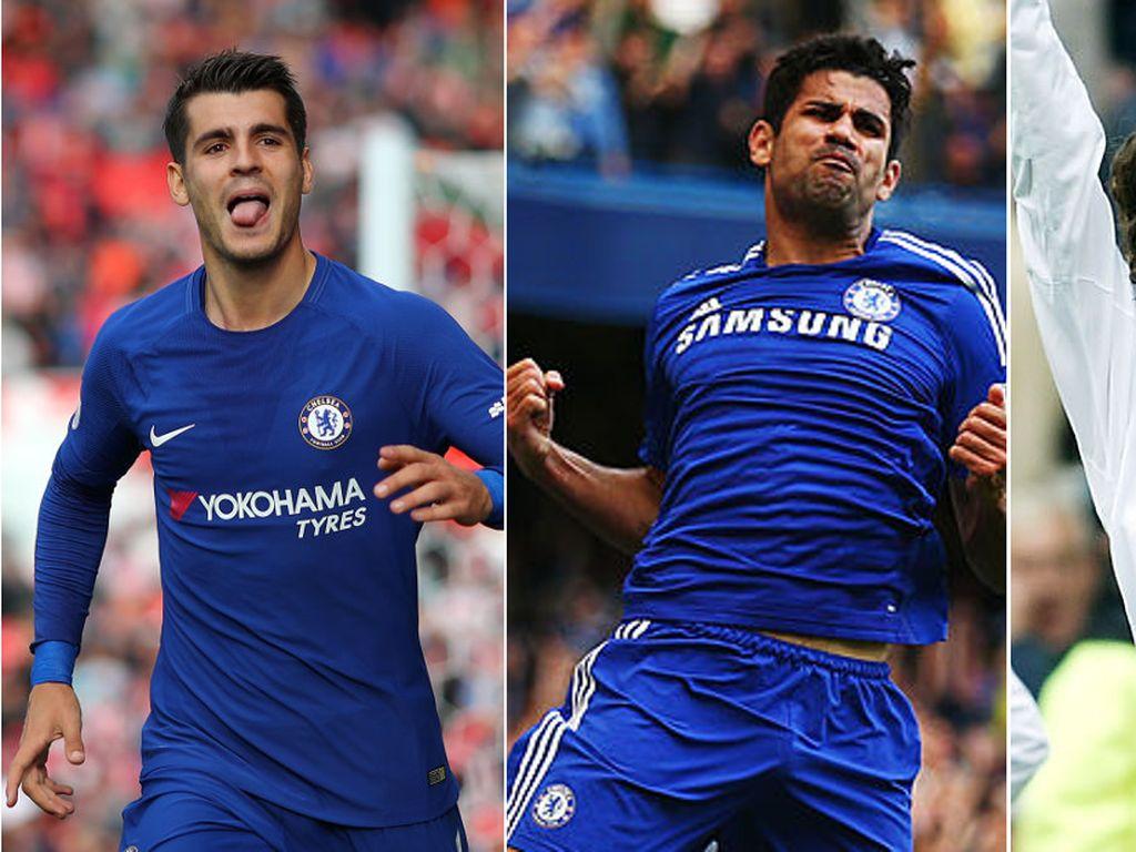 Morata dan Penyerang Lainnya Usai Enam Laga Awal di Chelsea