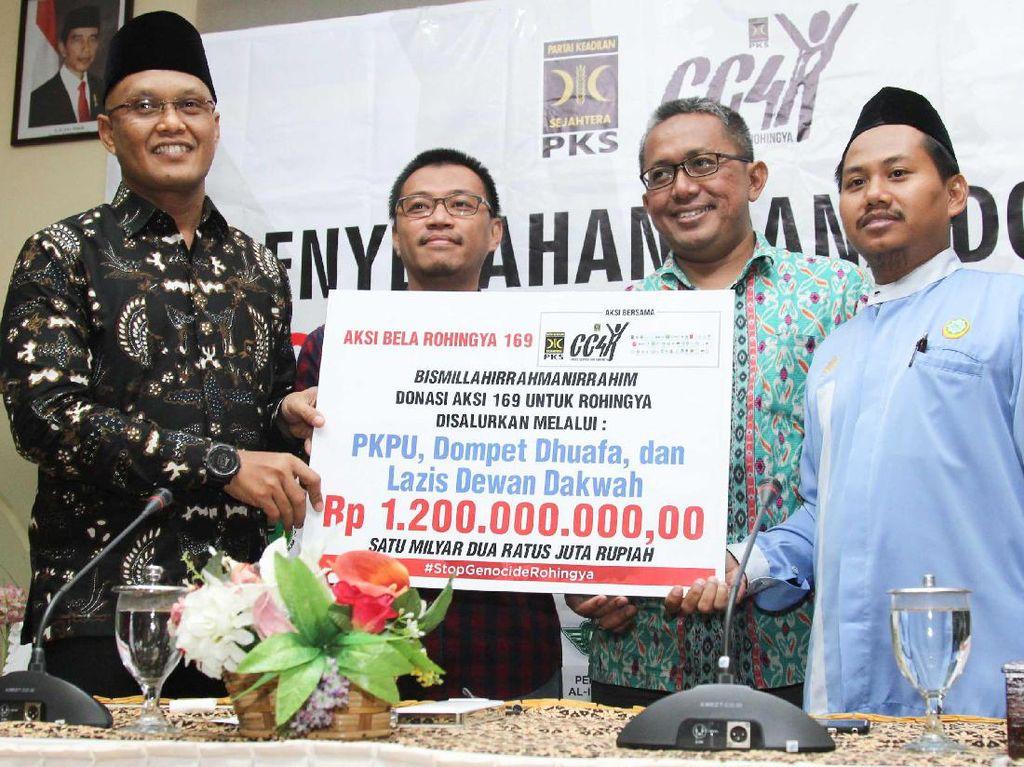 PKS Salurkan Donasi untuk Rohingya ke 3 Lembaga