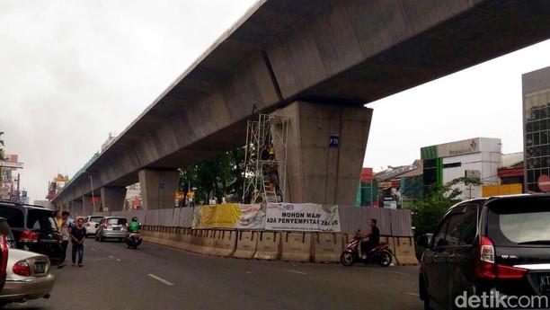 Melihat Kondisi Terkini LRT Kelapa Gading-Velodrome