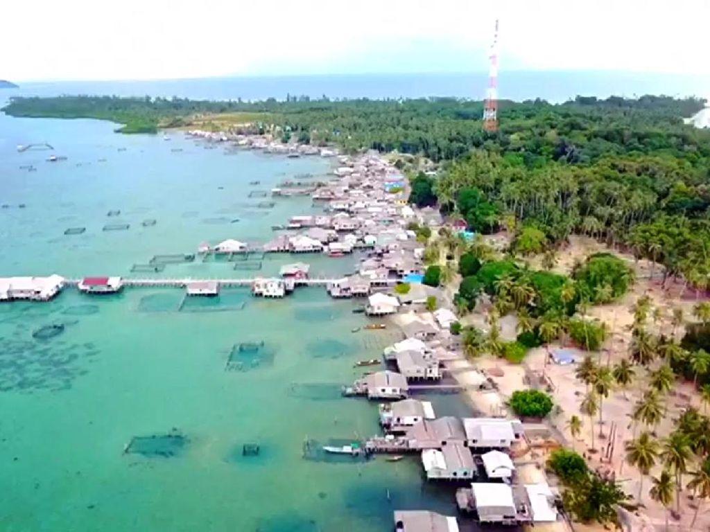 PLN Terangi Pulau Cantik di Provinsi Kepri