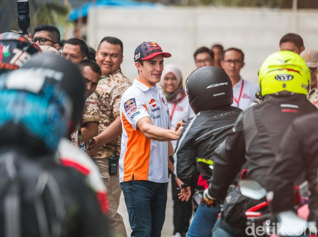 Serunya Meet and Greet Marquez-Pedrosa Bareng Anak CBR