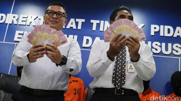 Sindikat Pembuat Uang Palsu Ditangkap