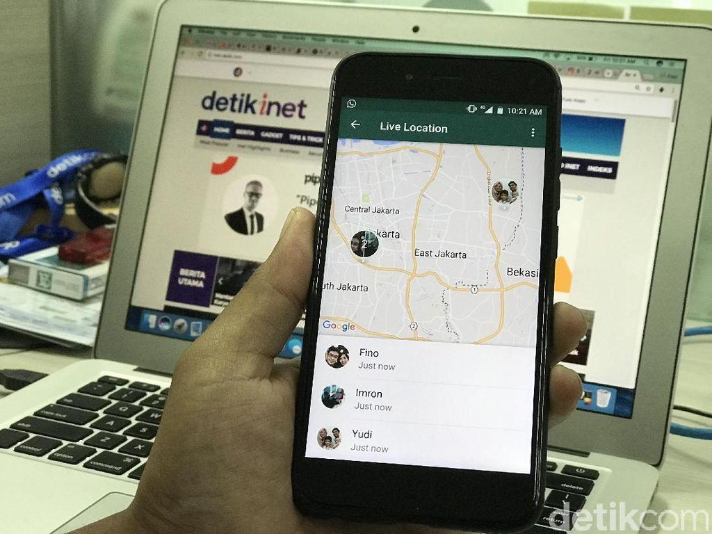 Langkah-langkah Menjajal Pemantau Lokasi Teman di WhatsApp