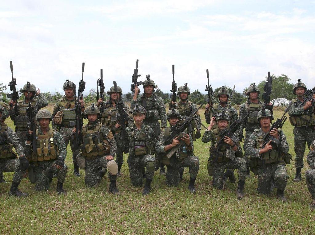 Foto: Ini Tentara Istimewa Filipina yang Diutus untuk Gempur ISIS