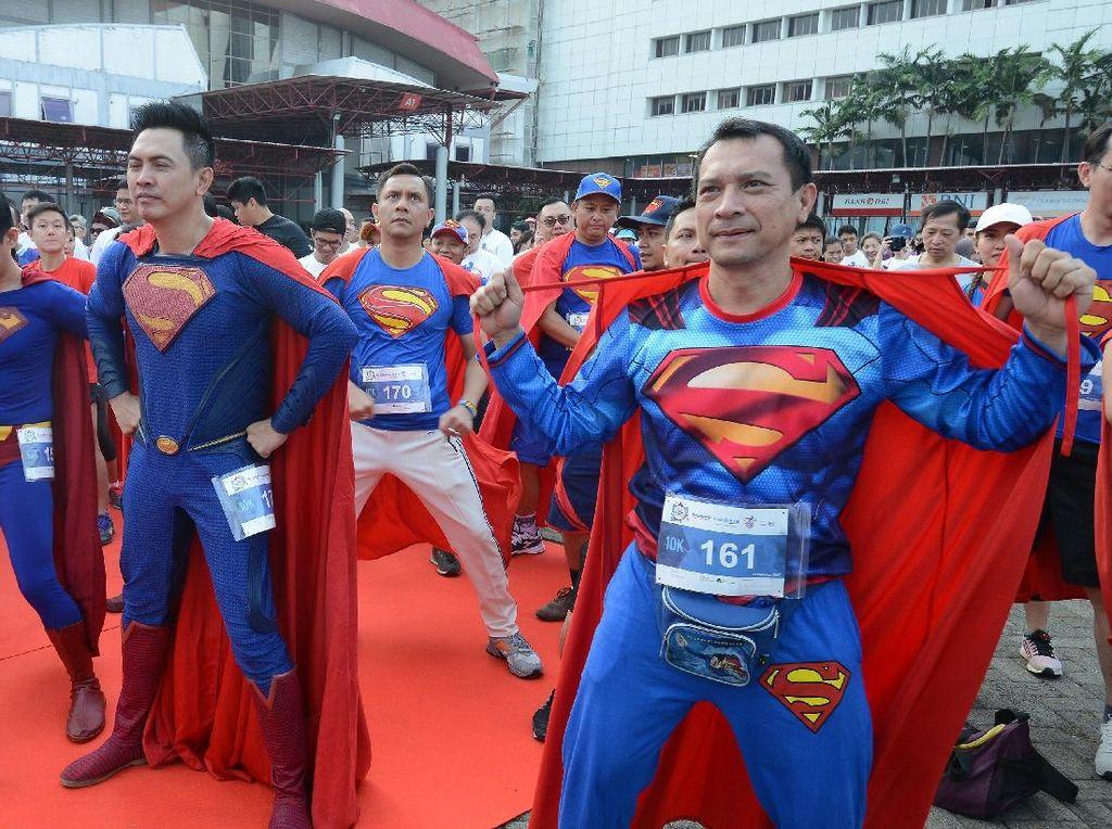 BTN Heroes Run, Ajak Peserta Kenakan Kostum Super Hero