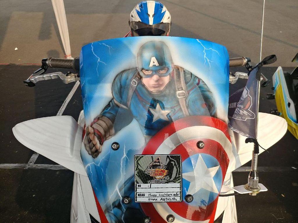 Yamaha Nmax untuk Captain America