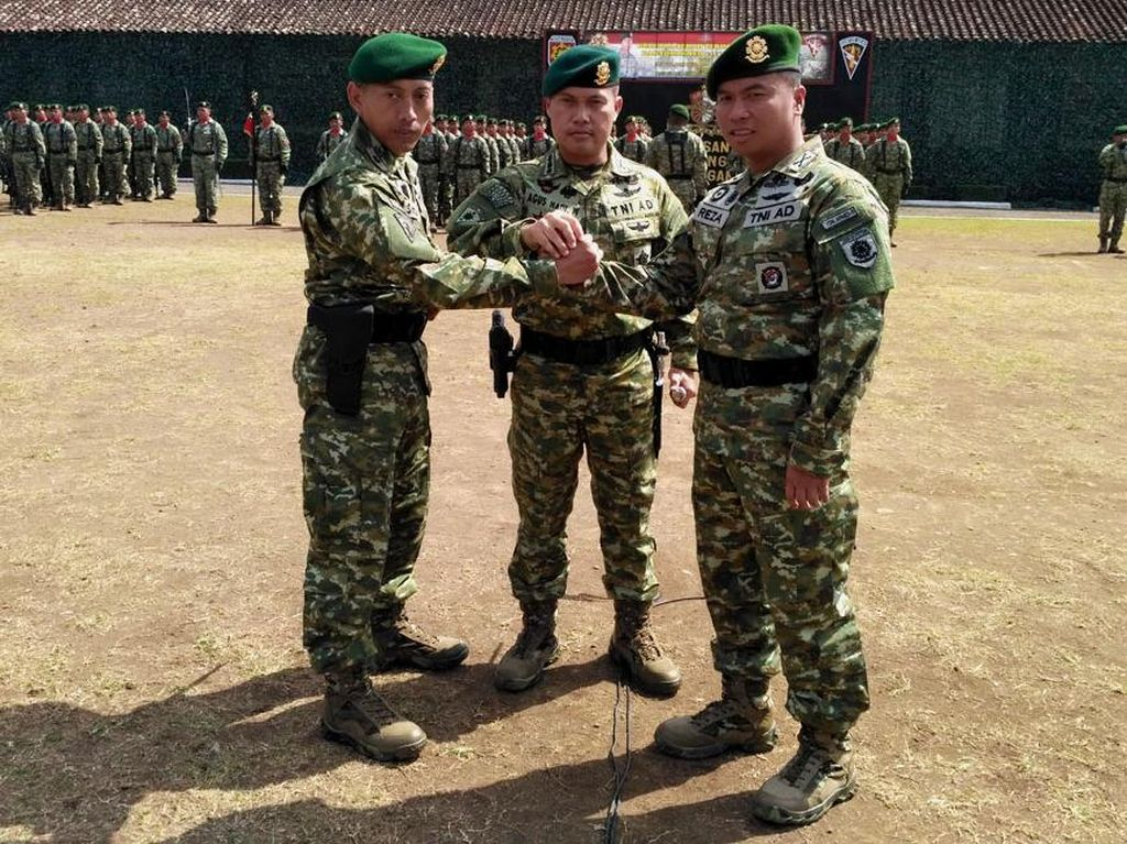 Mayor Arm Siswo Budiarto Jabat Danyonarmed 11 Kostrad
