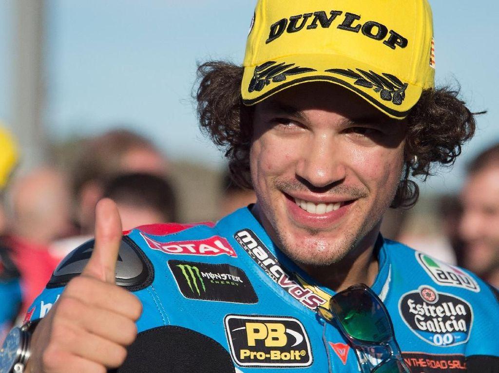 Untuk Franco Morbidelli, dia mengoleksi delapan kemenangan. Dari 18 balapan di musim 2017, dia 12 kali menuntaskannya di atas podium. (Mirco Lazzari gp/Getty Images)