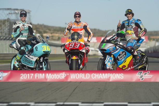 Marquez, Morbidelli, Mir: Tiga Raja Balap Grand Prix 2017
