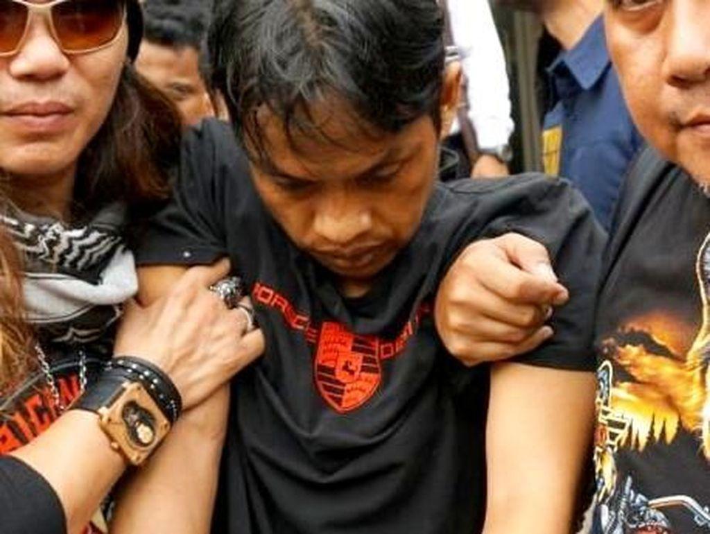 Badrun terpaksa ditembak petugas lantaran coba melawan saat ditangkap (Foto: Kanavino Ahmad Rizqo/detikcom)