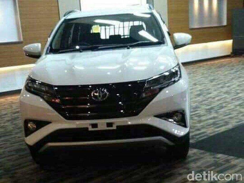 Begini Tampang Toyota Rush Terbaru