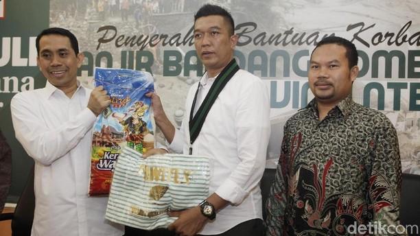 KAHMI  Bantu Korban Banjir Lombok