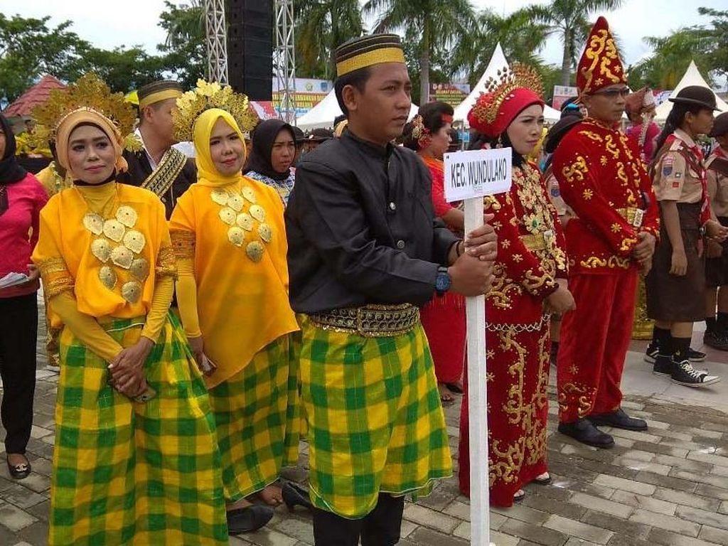 Peserta Kirab Nusantara Disambut Antusias Warga Kolaka