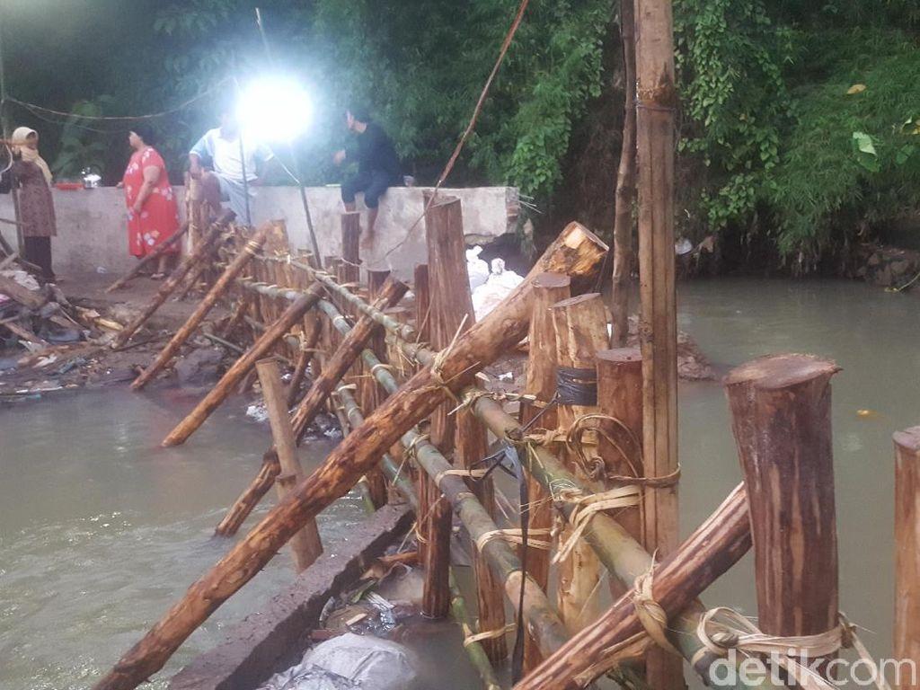 Foto: Situasi Terkini Penanganan Tanggul Jebol di Jatipadang