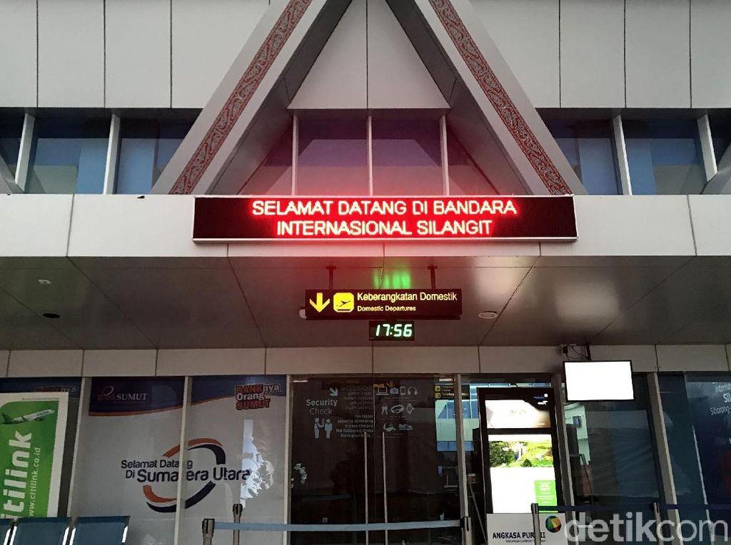 Menengok Wajah Baru Bandara Internasional Silangit