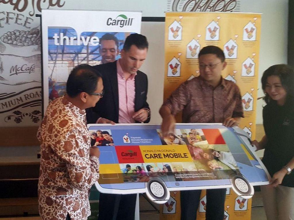 Dana ini akan digunakan untuk memperluas layanan program pemberian imunisasi bagi 39.000 anak balita Indonesia. Foto: dok. Cargill